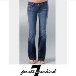7 For All Mankind Flynt Bootcut Denim Jeans 29